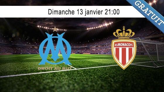 pronostic Marseille - Monaco