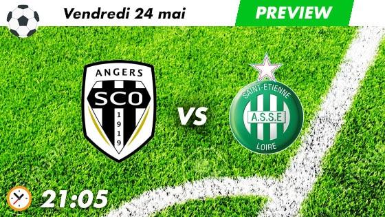 pronostic Angers - St Etienne