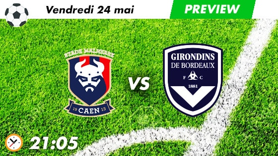 pronostic Caen - Bordeaux